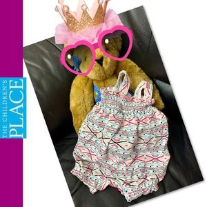 Children's Place One Pieces - 💞2 for $10💞Children's Place girl  romper 3-6M
